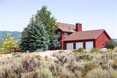 Park City Single Family Home For Sale: 14 W Westwood Road