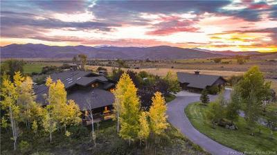 Oakley, Peoa Single Family Home For Sale: 1500 W 6000 North