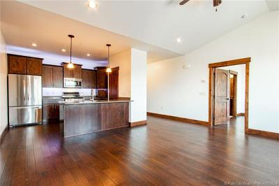 Heber City Condo/Townhouse For Sale: 1291 W Black Rock Trail #M