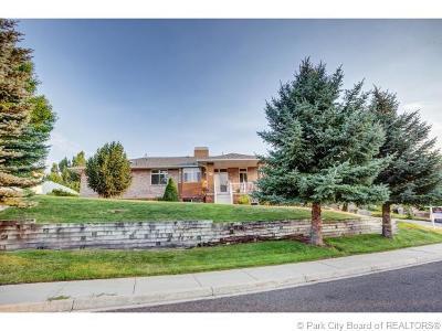 Heber City Single Family Home For Sale: 470 E Ridge Drive