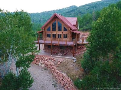 Oakley, Peoa Single Family Home For Sale: 161 Mt. Aire Upper Loop