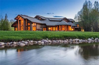Oakley, Peoa Single Family Home For Sale: 1198 E Elkhorn Lane