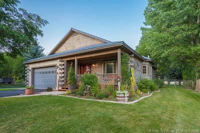 Midway Single Family Home For Sale: 40 N River Road