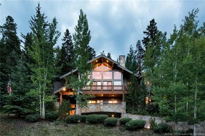 Park City Single Family Home For Sale: 7008 Silver Lake Drive