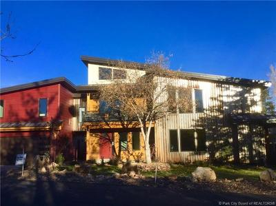 Park City Single Family Home For Sale: 1572 Village Round