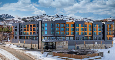 Park City Condo/Townhouse For Sale: 2670 W Canyons Resort Drive #334