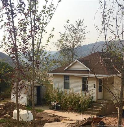 Wanship, Hoytsville, Coalville, Echo, Henefer Single Family Home For Sale: 1290 Echo Creek Road