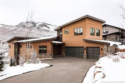 Park City Single Family Home For Sale: 915 Saddle View Way