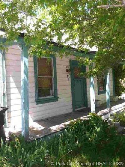 Park City Single Family Home For Sale: 959 Park Avenue