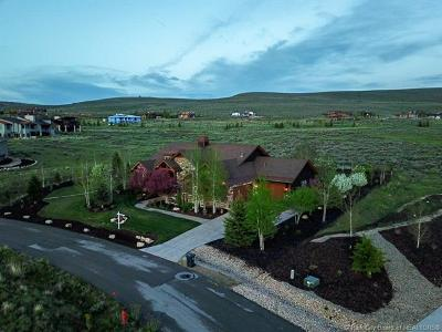 Park City Single Family Home For Sale: 6768 Mineral Loop