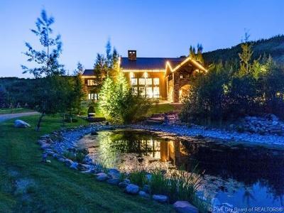 Oakley, Peoa Single Family Home For Sale: 5971 N Maple Ridge Trail