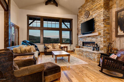 Park City Single Family Home For Sale: 9821 Hidden Hill Loop