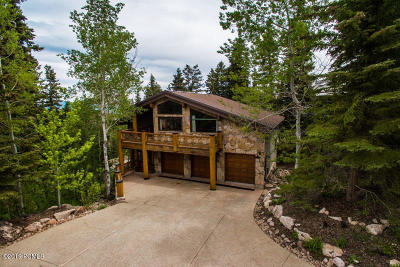 Park City Single Family Home For Sale: 6434 Silver Lake Drive