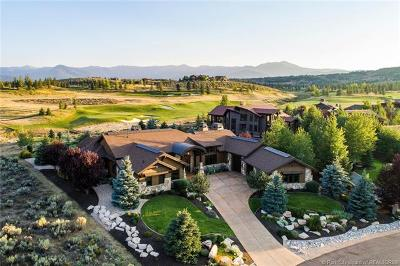 Park City Single Family Home For Sale: 8145 Glenwild Drive