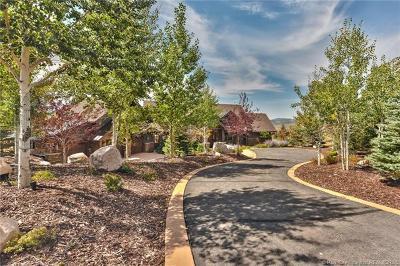 Park City Single Family Home For Sale: 7825 Rabbitbrush Court