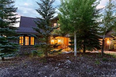 Park City Single Family Home For Sale: 3379 Tatanka Trail