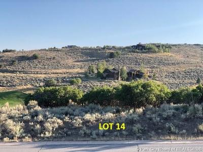 Tuhaye, Red Ledges Residential Lots & Land For Sale: 3520 E Still Branch