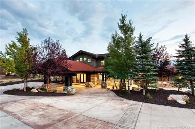 Park City Single Family Home For Sale: 2382 Palomino Trail