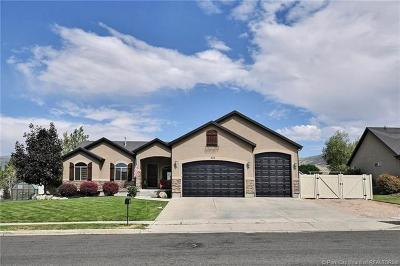 Heber City Single Family Home For Sale: 593 E 200 South