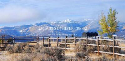 Park City Residential Lots & Land For Sale: 7664 N Whileaway Road