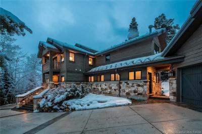 Park City UT Single Family Home For Sale: $3,599,000