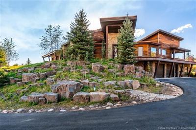 Oakley, Peoa Single Family Home For Sale: 5936 N Triple Crown Trail
