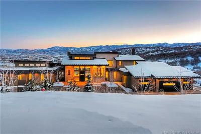 Park City Single Family Home For Sale: 1495 Red Fox