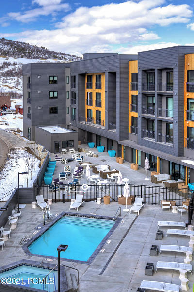 Park City Condo/Townhouse For Sale: 2670 W Canyons Resort Drive #210