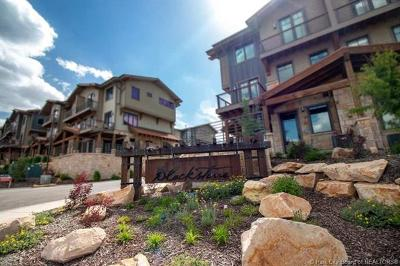 Park City Condo/Townhouse For Sale: 3793 Blackstone Drive #2H