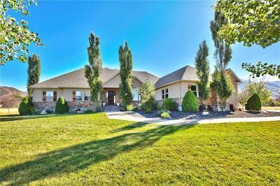 Oakley, Peoa Single Family Home For Sale: 5550 N Franson Lane