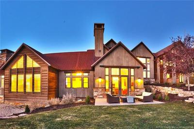 Park City Single Family Home For Sale: 2962 E West View Trail