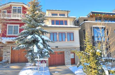 Park City Single Family Home For Sale: 521 Woodside Avenue