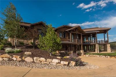Tuhaye, Red Ledges Single Family Home Active - Time Clause: 2251 E Lone Peak Drive