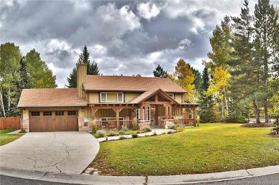 Park City Single Family Home For Sale: 2420 Little Kate Road