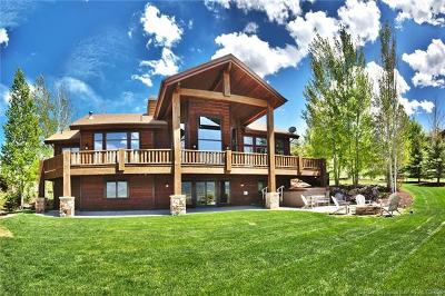 Park City Single Family Home For Sale: 5860 Mountain Ranch Drive