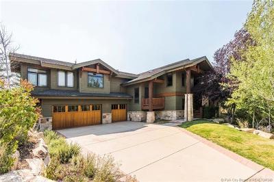 Park City Single Family Home For Sale: 3685 Oakwood Drive