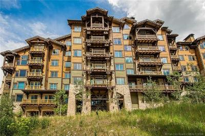 Park City Condo/Townhouse For Sale: 8902 Empire Club Drive #407