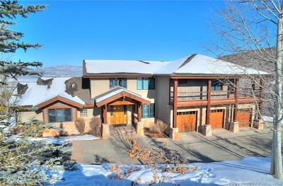 Park City Single Family Home For Sale: 3443 Meadows Drive