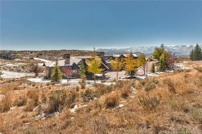 Park City Single Family Home For Sale: 3220 Antler Court