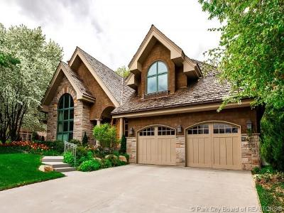 Park City Single Family Home For Sale: 75 Thaynes Canyon Drive