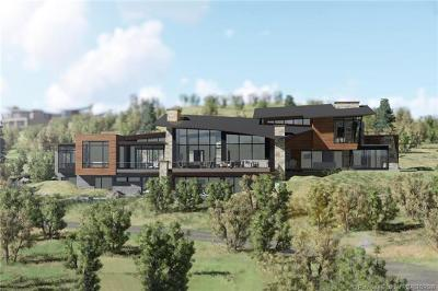 Park City Single Family Home For Sale: 9284 Promontory Summit Drive