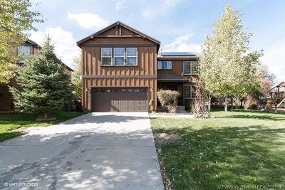 Park City Single Family Home For Sale: 5715 Narrow Leaf