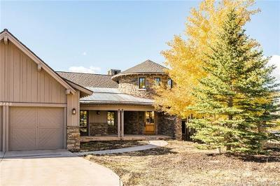 Park City Single Family Home For Sale: 3380 Tatanka Trail