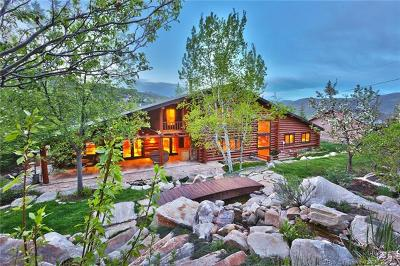 Park City Single Family Home For Sale: 4265 Hidden Cove Road