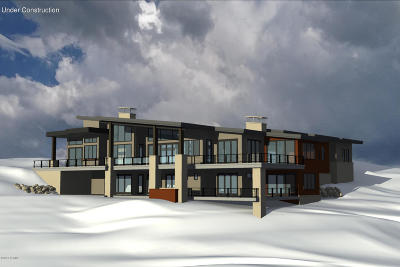 Park City Single Family Home For Sale: 8541 Promontory Rock
