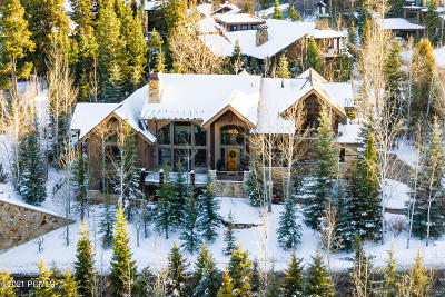 Park City Single Family Home For Sale: 2325 W Red Pine Road