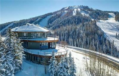 Park City Single Family Home For Sale: 7715 Bald Eagle Drive