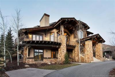 Park City Single Family Home For Sale: 8448 N Trails Drive
