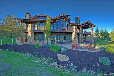Park City Single Family Home For Sale: 8752 Bitner Ranch Road