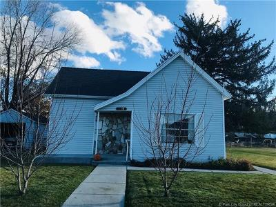 Wanship, Hoytsville, Coalville, Echo, Henefer Single Family Home For Sale: 110 E Center